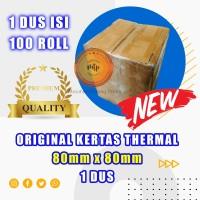 Kertas thermal paper roll / Kertas Termal 80 x 80 1 Dus terlaris