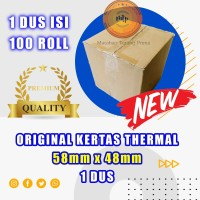 Kertas thermal paper roll / Kertas Termal 58 x 48 1 Dus -BERKUALITAS