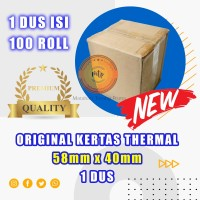Kertas thermal paper roll / Kertas Termal 58 x 40 1 Dus -BERKUALITAS
