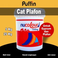 Cat Plafon Nucolour ceiling 5 kg - cat gipsum putih