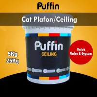 Cat Plafon Puffin Ceiling 5 kg - Cat gipsum putih