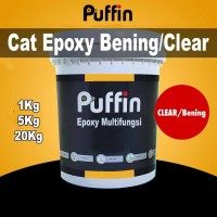 Cat Epoxy Bening / Clear Puffin Epoxy Multifungsi 5kg