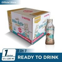 Kopi Luwak White Koffie Original Botol 220ml - 12 Pcs [Carton]