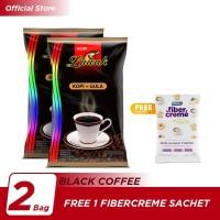 Kopi Luwak Plus Gula BC Bag 10x25gr [2]-Free 1 FiberCreme Sachet 100gr