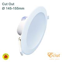 Downlight LED Flat Cover 14W Semu 4000K Lampu Plafon LED 14 Watt CW