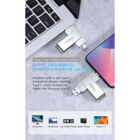 Flashdisk Vivan VOC132 32GB OTG HP Type-C Dan USB3.0 Dual Interface