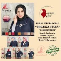 jual jilbab ORGANZA TIARA by Umama Scarf 6.000 RANDOM WARNA termurah