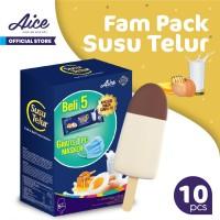 Paket Aice Ice Cream Susu Telur Family Pack (isi 10 pcs)