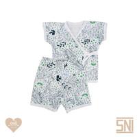 CUIT Setelan Kimono Tangan Pendek Celana Pendek SHIKA Series
