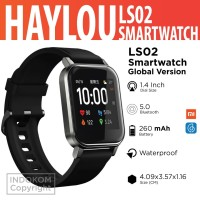 Haylou LS02 1.4 inch TFT Screen Smart Watch Bluetooth Global Version