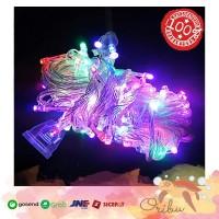 LAMPU TUMBLR RAINBOW 10 METER LED LAMPU HIAS POHON NATAL WARNA WARNI