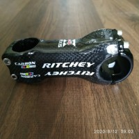 RITCHEY WCS Stem 3k Carbon 90mm 6 Degrees Glossy - Stem Road Bike MTB