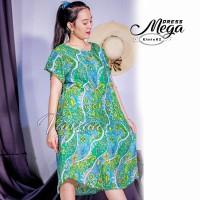 Daster Mega | Dress Vega Payung | Baju Midi Tidur | polos bali XXL 21