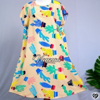 Daster Mega | Dress Vega Payung | Baju Midi Tidur | polos bali XXL 11