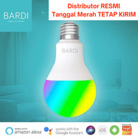 Bardi Smart 9W RGBWW LED Light Bulb ORI Alternatif Philips Hue Xiaomi