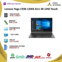 Lenovo Yoga C930 13iKB 2in1 4K UHD Touch i7 8550 16GB 1TBssd W10 13.9