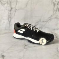 Sepatu Tenis Original Babolat Pulsion Black Burnt Olive Tennis Shoes