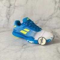 Sepatu Tenis Original Babolat Jet Mach II Malibu Blue Tennis Shoes