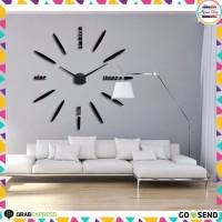 Jam Dinding Besar DIY 80-130cm Diameter Jam Besar Dekorasi Kantor