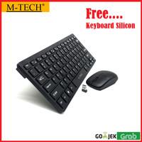 Keyboard Wireless Mini Slim M TECH STK 03/Keyboard Wireless Combo Mini