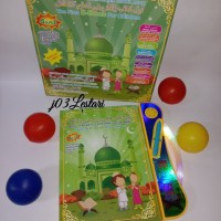 Mainan Edukasi anak / Ebook Islam 4bahasa LED