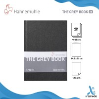 Hahnemuhle A5 Portrait Grey Book