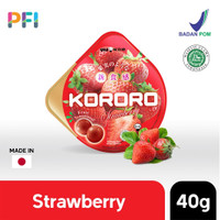 KORORO Jelly Candy Permen Gummy Jepang 40g Made in Japan