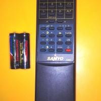 Remote TV TABUNG SANYO 7462 Gratis Batre