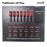 Taffware USB External Soundcard V8 PLUS - Bluetooth Audio - Sound card