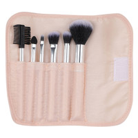 MINISO Kit Kuas Makeup Brush Spons Kosmetik 7 Pcs Set Blush Powder
