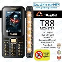 ALDO T88 Monster TV Analog 5D T-88 Garansi Resmi