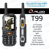 ALDO T99 T-99 Garansi Resmi