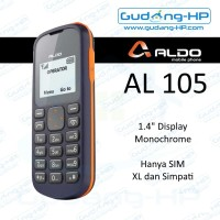ALDO AL105 Candybar AL-105 Garansi Resmi