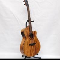 Gitar akustik elektrik Tuner Camwood koa IWC-235 NSK