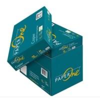[Grab/Gojek] Kertas Fotocopy Print HVS A4 75 / 80 gr PaperOne Box Dus - 75 gram