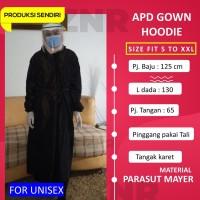 APD gwon Hoodie jubah operasi surgical gown