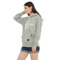 Cottonology Sweater Jaket Hoodie San Fransisco Wanita Mint