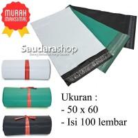 Polymailer Ekonomis 50x60 (100pcs) / Plastik Packing Online 50 x 60