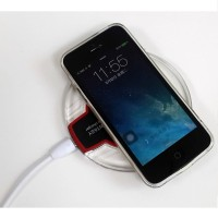 Wireless Qi Cas Charger for Android / iOS Khusus Hp yang Support