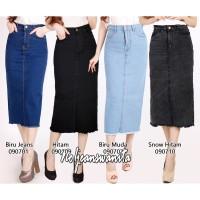 Rok Jeans Rawis / Rok Jeans Wanita / Rok Rawis Wanita / Rok Rawis / Ro - Hitam, 31