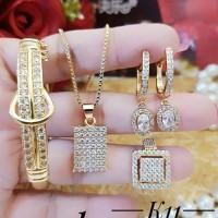 xuping set perhiasan lapis emas 24k 1232a