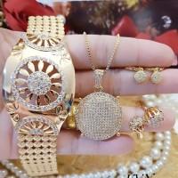 xuping set perhiasan lapis emas 24k 1230a