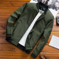 OUTERWEAR PRIA JAKET CASUAL POLOS POLYESTER