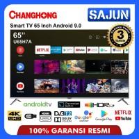 Changhong Framless U65H7A LED TV Android TV 65 Inch - UHD TV