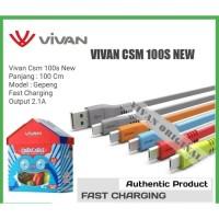Vivan CSM100S Kabel Data Charger Micro USB 1M