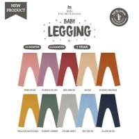 LITTLE PALMERHAUS Baby Legging - Legging Bayi - HONEY BROWN, 3-6 BULAN
