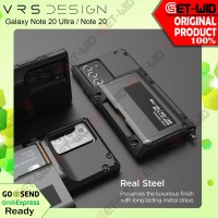 Case Samsung Galaxy Note 20 Ultra Note 20 VRS Design Damda Glide Pro - Note 20, Black