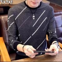 Kaos Baju Lengan Panjang Davis Atasan Cowok Pria Murah Fashion Premium