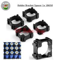 Dudukan Battery Baterai 1*18650 1 slot Holder Spacer Bracket Case DIY