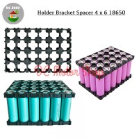 Dudukan Battery Baterai 4*6 4x6 18650 Holder Spacer Bracket Case DIY